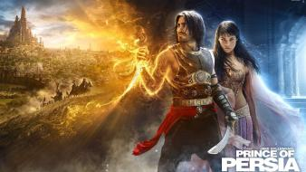 Movies prince of persia gemma arterton jake gyllenhaal wallpaper