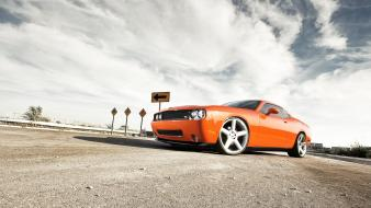 Nature dodge challenger srt8 complex magazine wallpaper