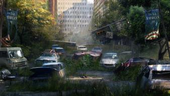 Nature post-apocalyptic artwork the last of us Wallpaper