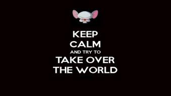 Pinky and the brain keep calm wallpaper
