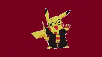 Pokemon pikachu harry potter Wallpaper