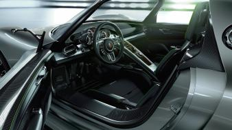Porsche cars interior vehicles 918 spyder Wallpaper