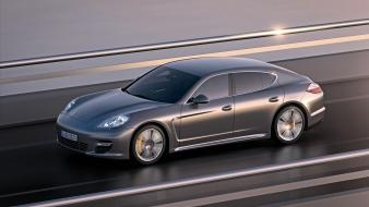 Porsche cars vehicles panamera turbo Wallpaper