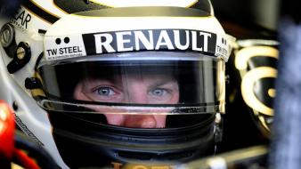 Renault lotus kimi raikkonen wallpaper