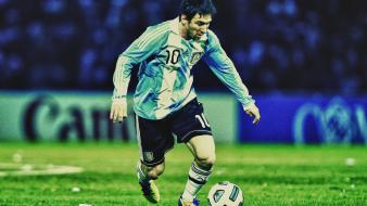 Soccer argentina lionel messi football teams wallpaper