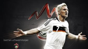 Soccer bastian schweinsteiger football player wallpaper