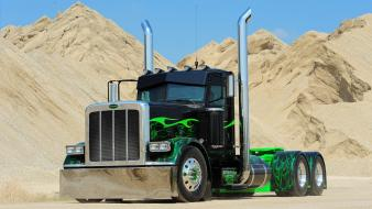 Trucks peterbilt widescreen Wallpaper