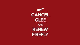Tv text funny firefly glee wallpaper