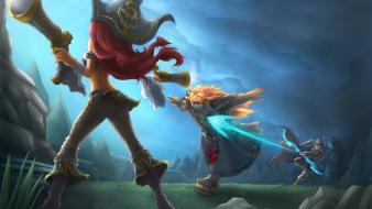 Udyr miss fortune ashe the frost archer Wallpaper