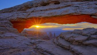 Utah national park arches the sky wallpaper