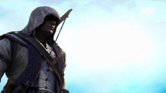Video games assassins creed 3 connor kenway wallpaper