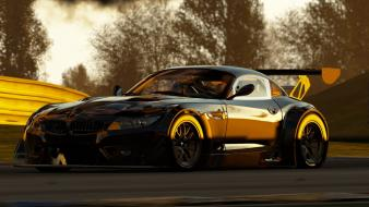 Video games cars bmw z4 racing project wallpaper