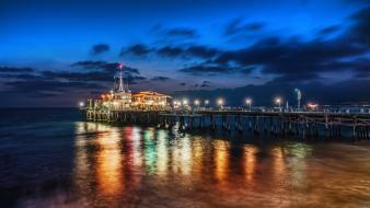 Water dock los angeles santa trey ratcliff monica wallpaper