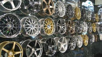 Alloy wheels wallpaper