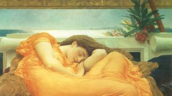 Artwork posters frederic leighton wallpaper