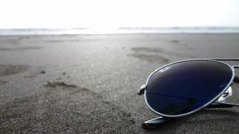 Beach sunglasses blue light ray ban wallpaper