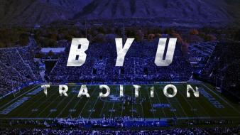 Blue soccer college stadium byu wallpaper
