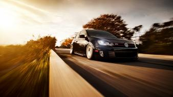 Cars roads vehicles volkswagen golf gti wallpaper