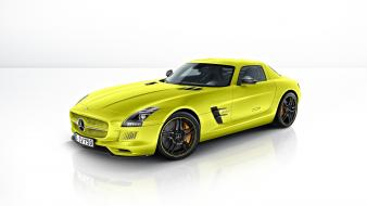 Cars sls amg electric drive wallpaper