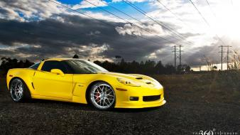 Cars vehicles corvette three sixty forged wallpaper