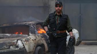 Chuck norris the expendables 2 wallpaper