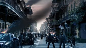 Cities zombie apocalypse left 4 dead 2 Wallpaper
