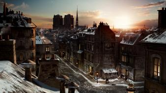 Cityscapes artwork hugo - movie Wallpaper