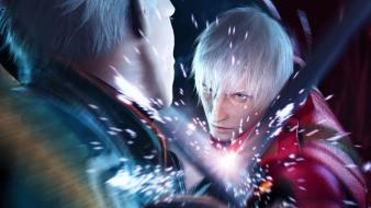 Dante artwork devil may cry 3 wallpaper