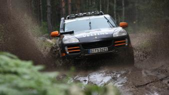 Dust rally 2008 racing wrc porsche cayenne Wallpaper