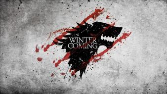 Game of thrones winter is coming symbols wallpaper