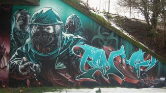 Graffiti artwork wallpaper
