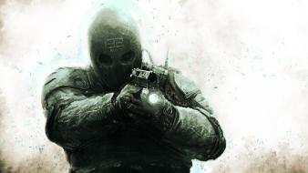 Guns army of two first person shooter wallpaper