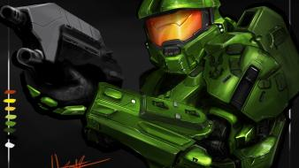 Halo master chief drawings 4 fan art Wallpaper