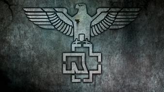 Industrial metal rammstein rock band adler digital art wallpaper