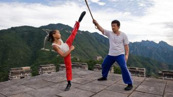 Jackie chan jaden smith the karate kid wallpaper