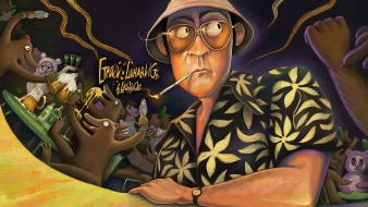 Movies fear and loathing in las vegas artwork Wallpaper