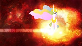 My little pony: friendship is magic sunburst wallpaper