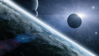Nature outer space Wallpaper