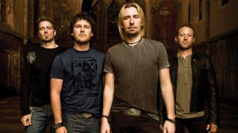 Nickelback rock music singers wallpaper
