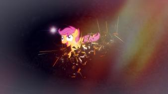 Ponies scootaloo my little pony: friendship is magic Wallpaper