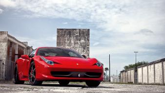 Streets cars ferrari roads vehicles 458 italia automobile wallpaper