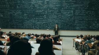 Teachers students a man michael stuhlbarg blackboard wallpaper