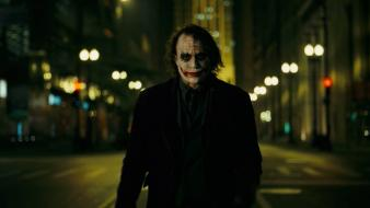 The joker heath ledger batman dark knight wallpaper