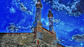 Turkey ottoman turkish türk minarets sivas Wallpaper