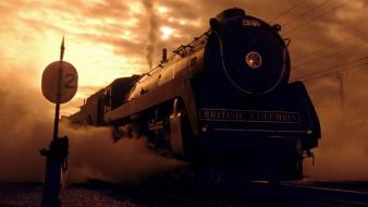 Vancouver steam engine british columbia royal hudson wallpaper