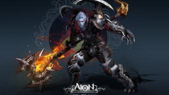 Video games aion wallpaper