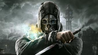 Video games dishonored corvo attano Wallpaper