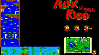 Video games sega entertainment retro alex kidd Wallpaper