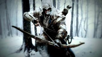 Winter assassins creed 3 connor kenway wallpaper