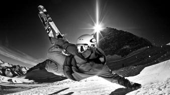 Winter sports snowboarding snowboard wallpaper